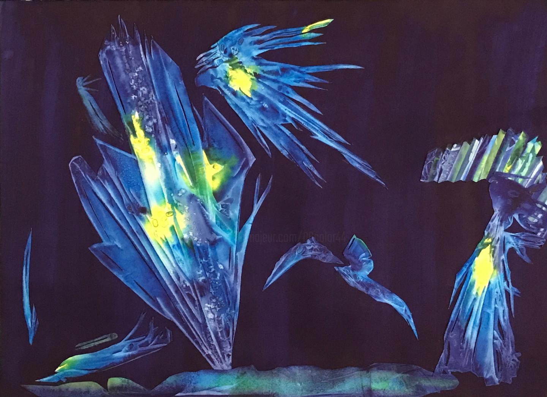Marie-Annick Radigois - oniris-princesse-bleue 50x70.jpg