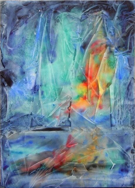Marie-Annick Radigois - soleil sur la banquise 2