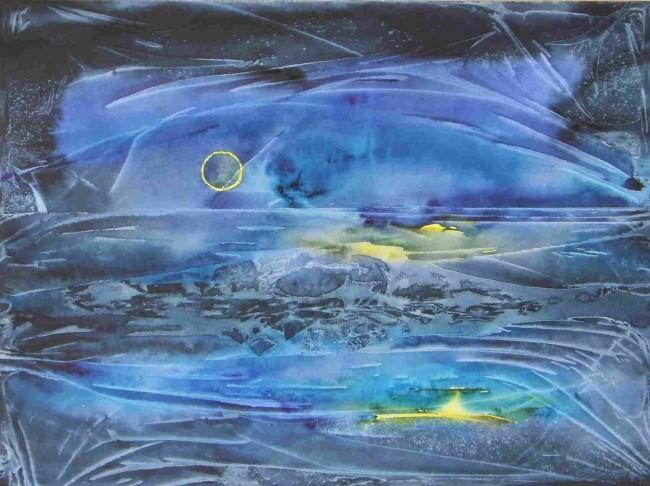 Marie-Annick Radigois - lune ou soleil 1