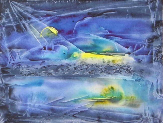 Marie-Annick Radigois - lune ou soleil 2