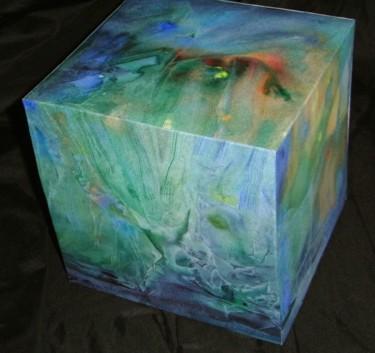 """Cube  """"Dessous l'eau"""""""